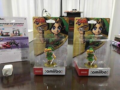 Legend of Zelda Majora's Mask Amiibo Link. New In perfect
