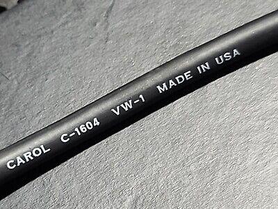 Carol C1604 164c Premium Braid Shielded Low Impedance Microphone Cable 25ft