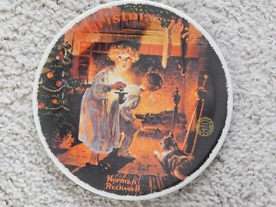 Norman Rockwell Collector Plate 'SOMEBODY'S UP THERE' Christmas 1979 EC