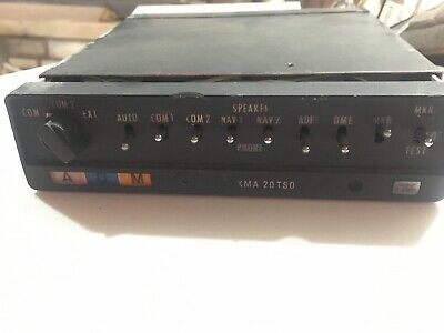 Bendix/King KMA-20 Audio Panel PN 066-1024-16