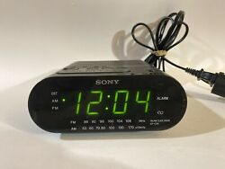 Classic Sony Dream Machine ICF-C218 FM/AM Alarm Clock Radio