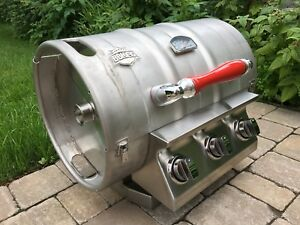 NEW BBKeg Portable Gas Grill - Best Tailgate Grill