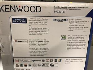 NEVER USED - Brand new Kenwood stereo system