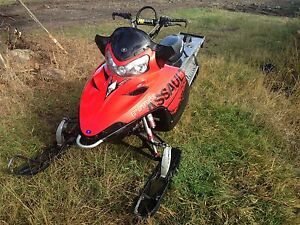 2009 Polaris 800 assault 163""