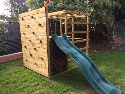 PLUM PLAY Kids Playground Playgym Climbing Frame Cubby House