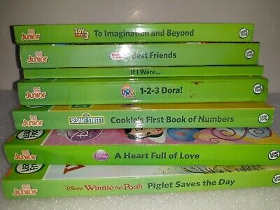 Lot of 7 Leap Frog Tag Junior Books Toy Story Thomas the Train