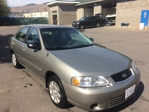 2002 Nissan Sentra XE excellent condition, Low Kms