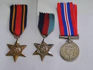 WW2 genuine british war medals. Orelia Kwinana Area Preview