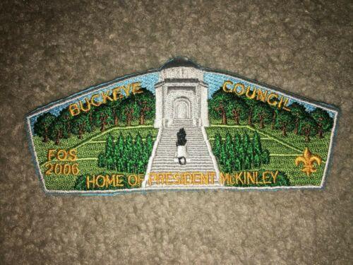 Boy Scout S33 President McKinley Pilgrimage Buckeye Ohio Council Strip CSP Patch