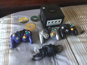 Game cube with 3 controllers and 3 Zelda games. $150.00