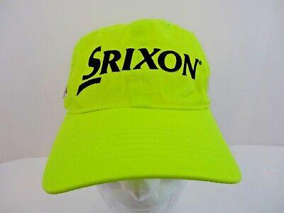 42b78ada943 Srixon Z Star Tour Yellow Adjustable Strap Back Golf Hat Cap NEW w  Tags