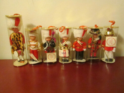 Vintage Soldier Ornaments Christmas Dolls Ornaments Hong Kong