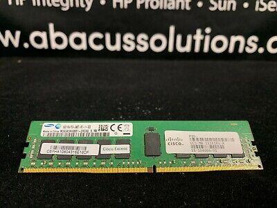 CISCO UCS-MR-1X162RU-A 16GB 1X16GB 2RX4 PC4-2133P DDR4 MEMORY