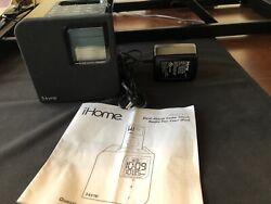 iHome iPod/iPhone Radio Charging Station Speaker Alarm Clock iH12b Manual Mint