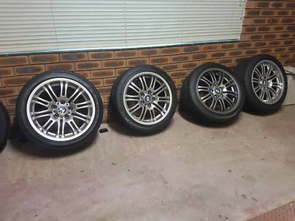 18 inch M3 wheels and tyres x 4