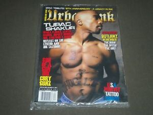 2011 URBAN INK MAGAZINE ISSUE NUMBER 21 - TUPAC COVER - BRAND NEW SEALED- O 2478
