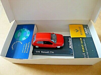 1519 RENAULT CLIO Renault Car Dealers Promotional Diecast Model SOLIDO Boxed