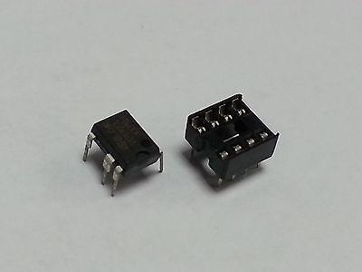 Viper27l Viper27 Dip-7 Ic Socket 8 Pins Usa Free Shipping