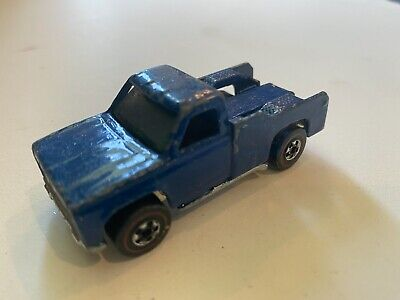 Vintage Hot Wheels Redline 1975 Backwoods Bomb Blue Hong Kong