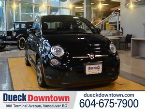 2015 FIAT 500E NAVIGATION/LEATHER