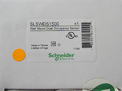(Square D SLSWDS1500 Wall Mount Dual Occupancy Sensor NEW!! Free Shipping)
