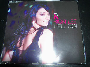 Ricki-Lee-Coulter-Hell-No-rare-Australian-CD-Single