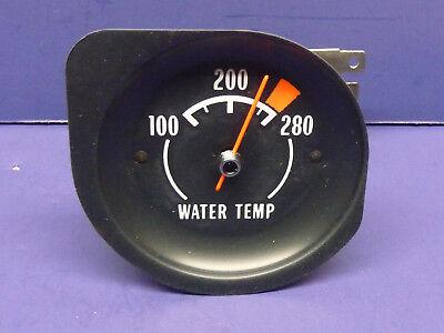Original 1974 Corvette  Water Temperature Gauge Tested Works NCRS