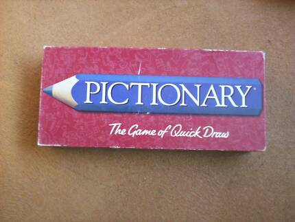 .. PICTIONARY BOARDGAME -