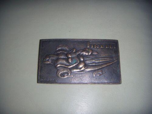 Rare Vintage Salvador Dali Pirelli Belt Buckle