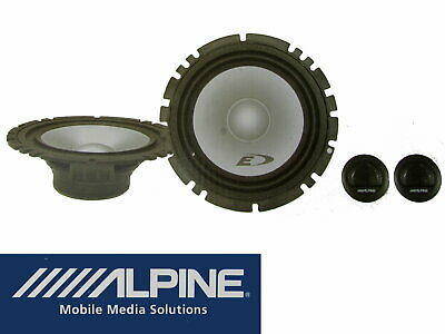 Citroen Jumper Fiat Ducato Boxer Alpine Audio Lautsprecher Einbau Set System SXE