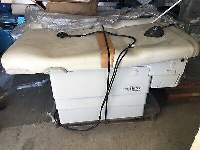 Midmark Ritter 223 Power Exam Chair Table