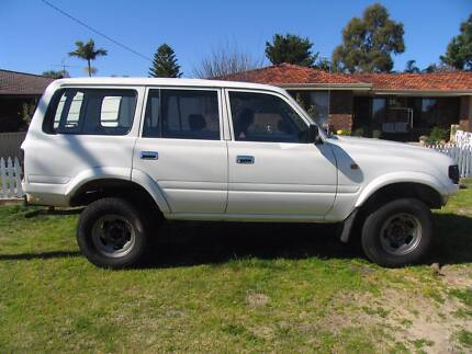 Toyota Landcruiser 80's series Wanneroo Wanneroo Area Preview