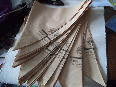 50 Old Cornets Papier Vintage for Medicine from Old Pharmacy for Museeum New