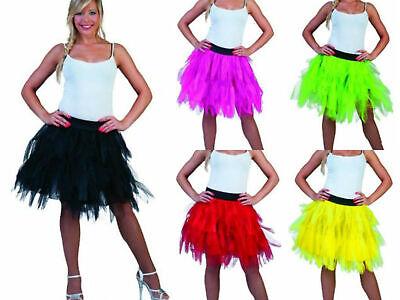 Kostüm Petticoat Tüllrock Tüll Rock Tutu Tütü Halloween Motto Karneval (Rock Motto Kostüme)