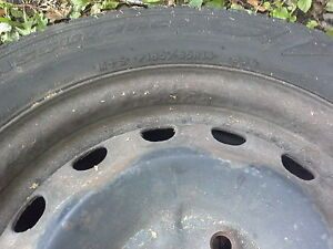 185/65R14 used tires with rims