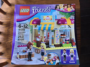 FOR SALE:  Lego Friends Downtown Bakery 41006 RETIRED New