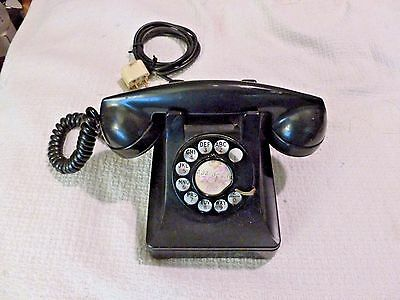 Vintage Bell Systems Western Electric Rotary Telephone - F1 Handset