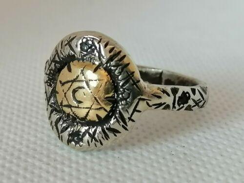 Very Stunning Ancient Viking Bronze Ring- Rare Type-Museum Quality Artifact