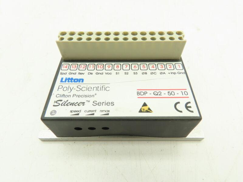 Litton BDP-Q2-50-10 Poly-Scientific Clifton Precision Silencer