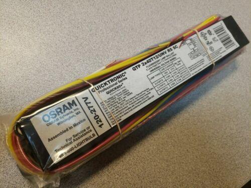Osram SYLVANIA QUICKTRONIC BALLAST QTP 2X40T12/UNV RS SC QUICK60+