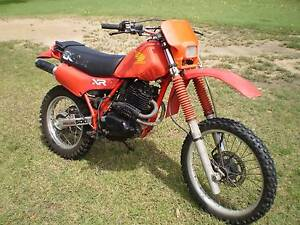 honda xr's 1982 | motorcycles & scooters | gumtree australia free