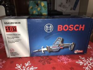 """Bosch 18V Compact Recip Saw """"Tool Only"""""""