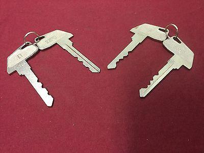 Tec Toshiba Cash Register A B Keys Set Of 4 - Locksmith