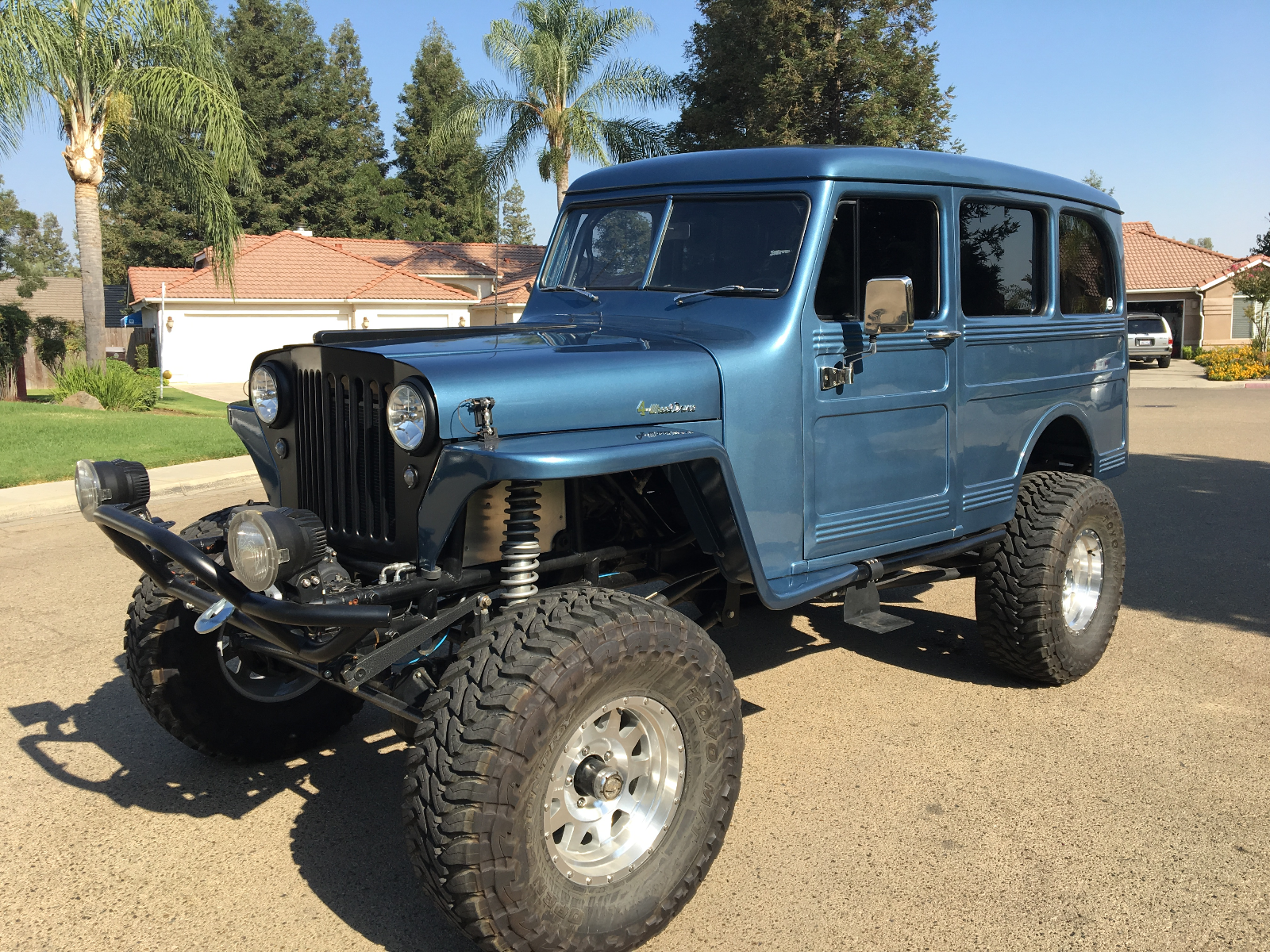 1949 Willys Station Wagon  Willys Station Wagon Custom 4x4 Jeep