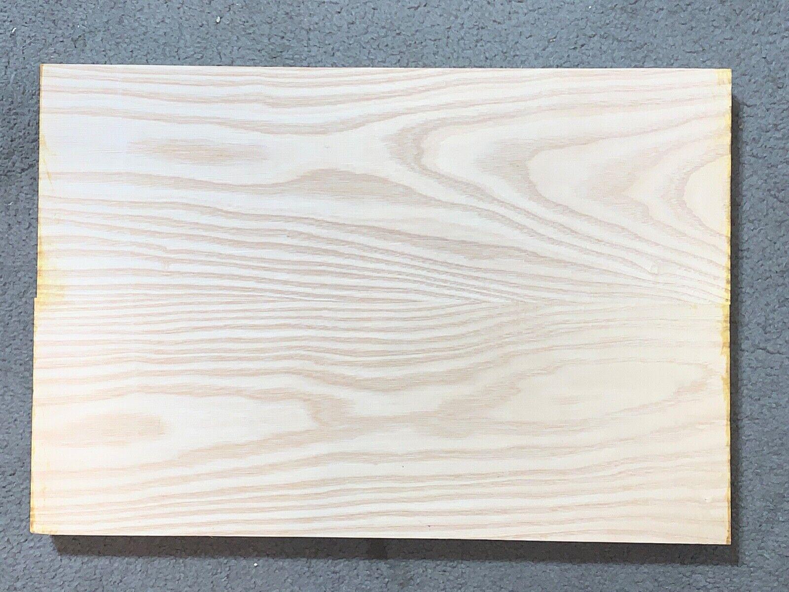 WHITE ASH Guitar Body Blanks- 2 Glued Piece 21 X 14 X 2 FREE SHIPPING  - $48.00