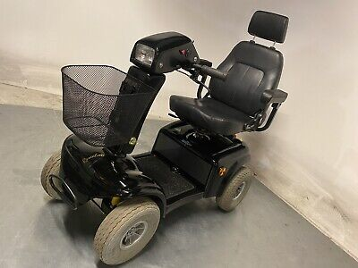 Large Rascal 850 8mph Mobility Scooter In Black All Terrain