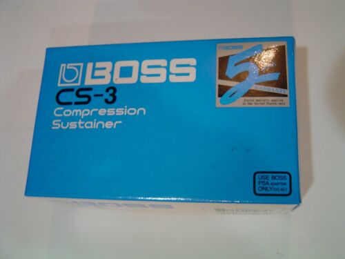 BOSS CS-3 Compression Sustainer Guitar Effect Pedal Mint