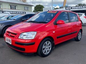 2004 Hyundai Getz GL Manual Hatchback Maryborough Fraser Coast Preview