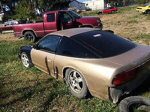 1992 Nissan 180sx rolling shell *updated more pics*