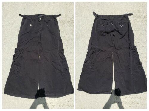 Tripp NYC Women's Bondage Pants - 5 - Wide Leg, Goth, Rave